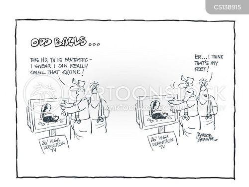 high-def tv cartoon
