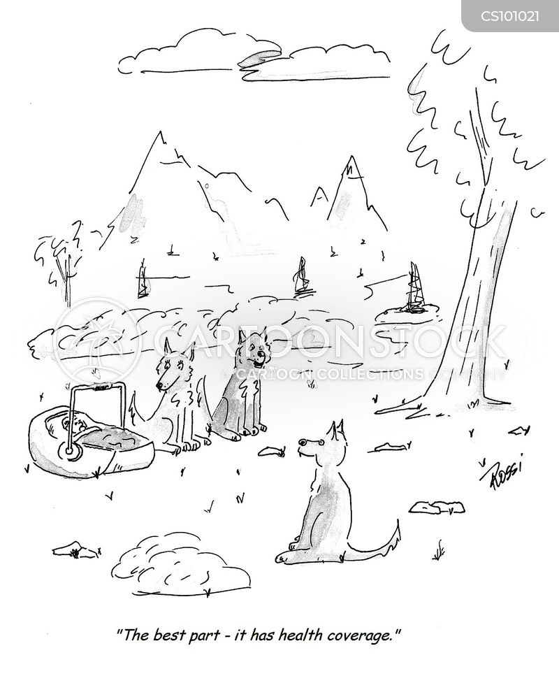 raised by wolves cartoon
