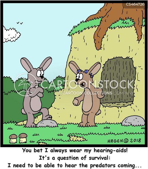 survival instincts cartoon