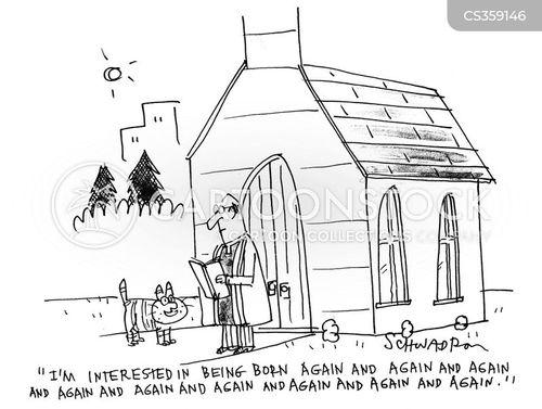 born again cartoon