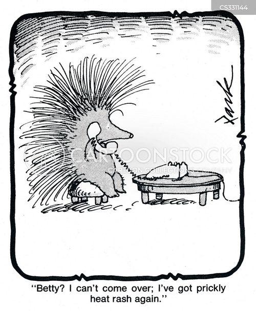 prickle cartoon