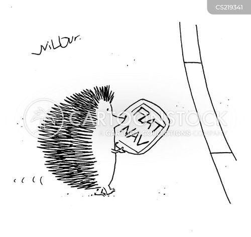 flatten cartoon