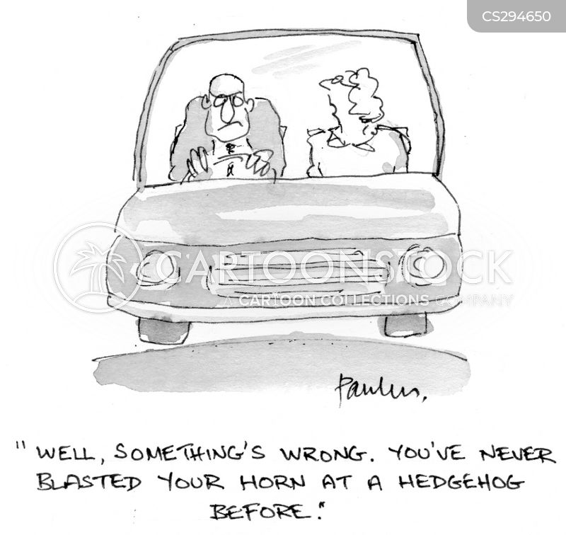 Car Horns Cartoons And Comics Funny Pictures From Cartoonstock