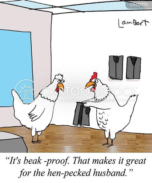 henpecked cartoon