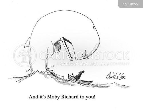 whaling cartoon