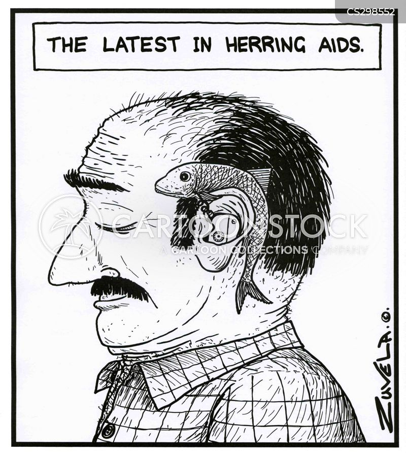 herring cartoon
