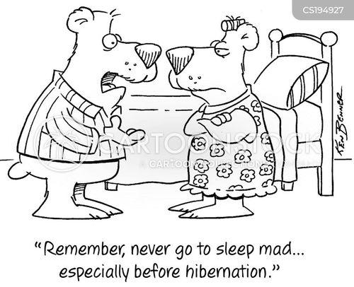 hibernated cartoon