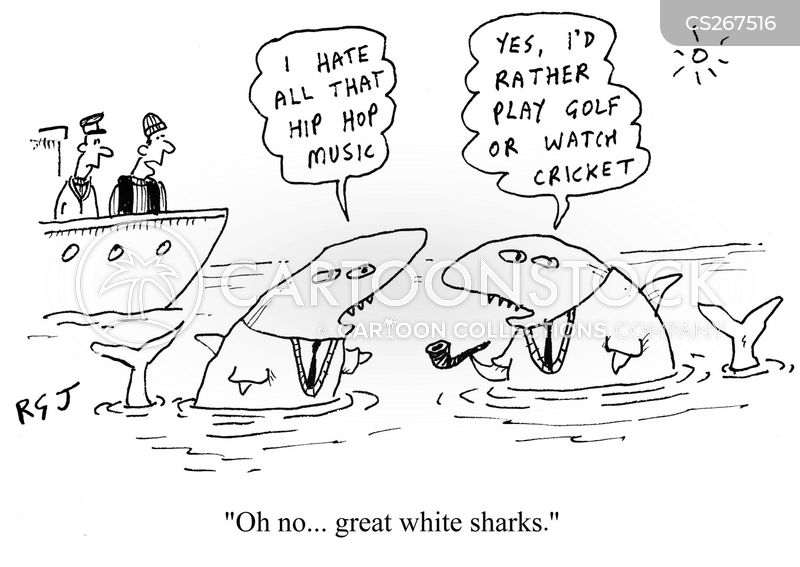 Great Whites cartoons, Great Whites cartoon, funny, Great Whites picture, Great Whites pictures, Great Whites image, Great Whites images, Great Whites illustration, Great Whites illustrations