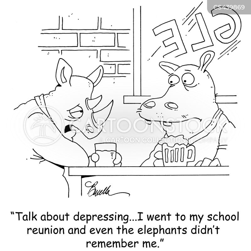 class reunions cartoon