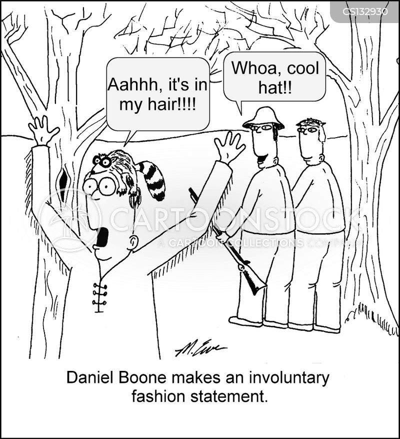 hunting cap cartoon