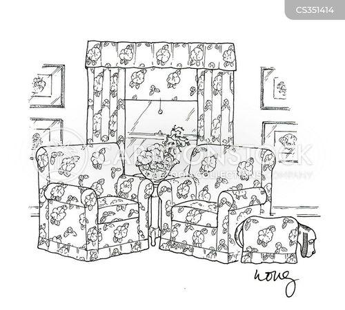 floral pattern cartoon