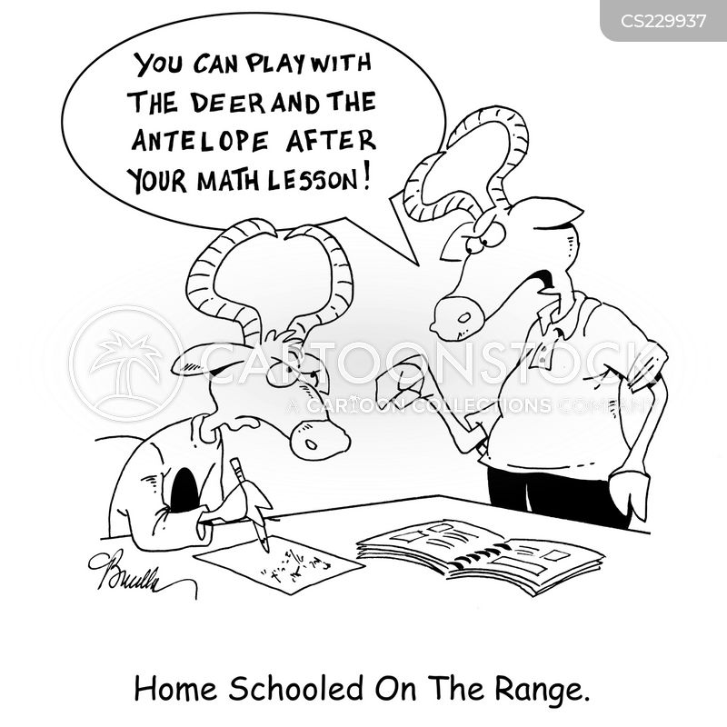 home schooled cartoon