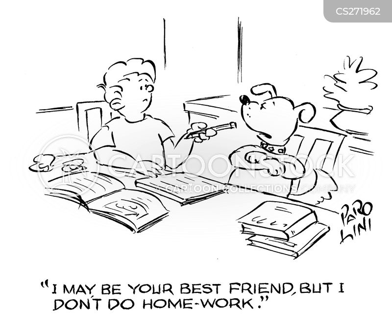 Home-work cartoons, Home-work cartoon, funny, Home-work picture, Home-work pictures, Home-work image, Home-work images, Home-work illustration, Home-work illustrations