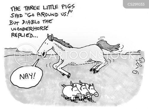 neigh cartoon