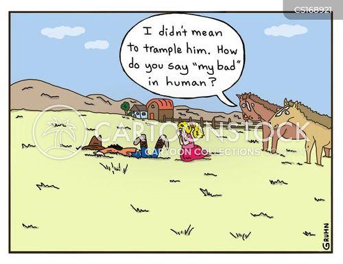 inconsiderate cartoon
