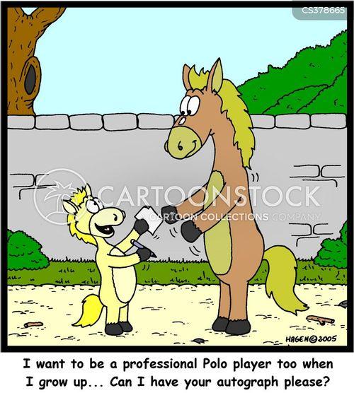 polo cartoon