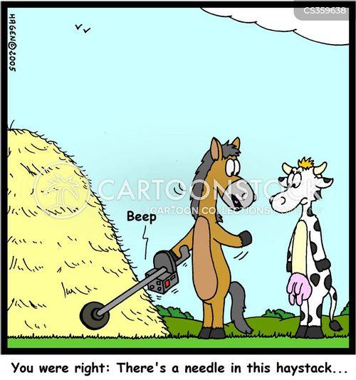 haystacks cartoon