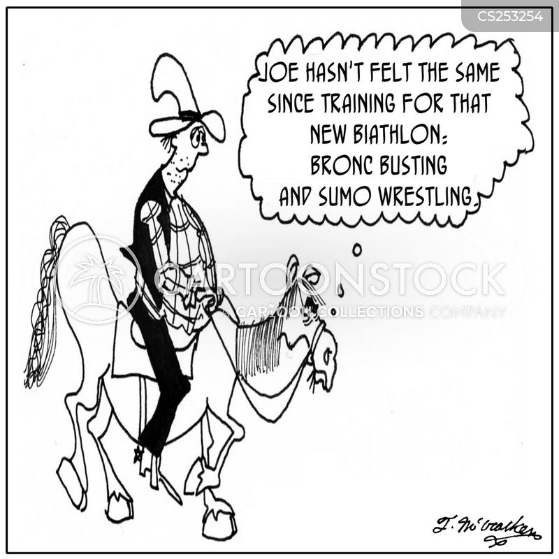 the old west cartoon