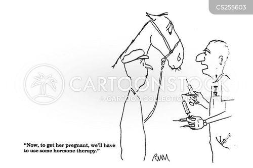 fertility treatments cartoon