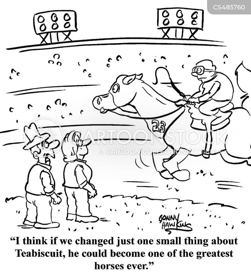 seabiscuit cartoon