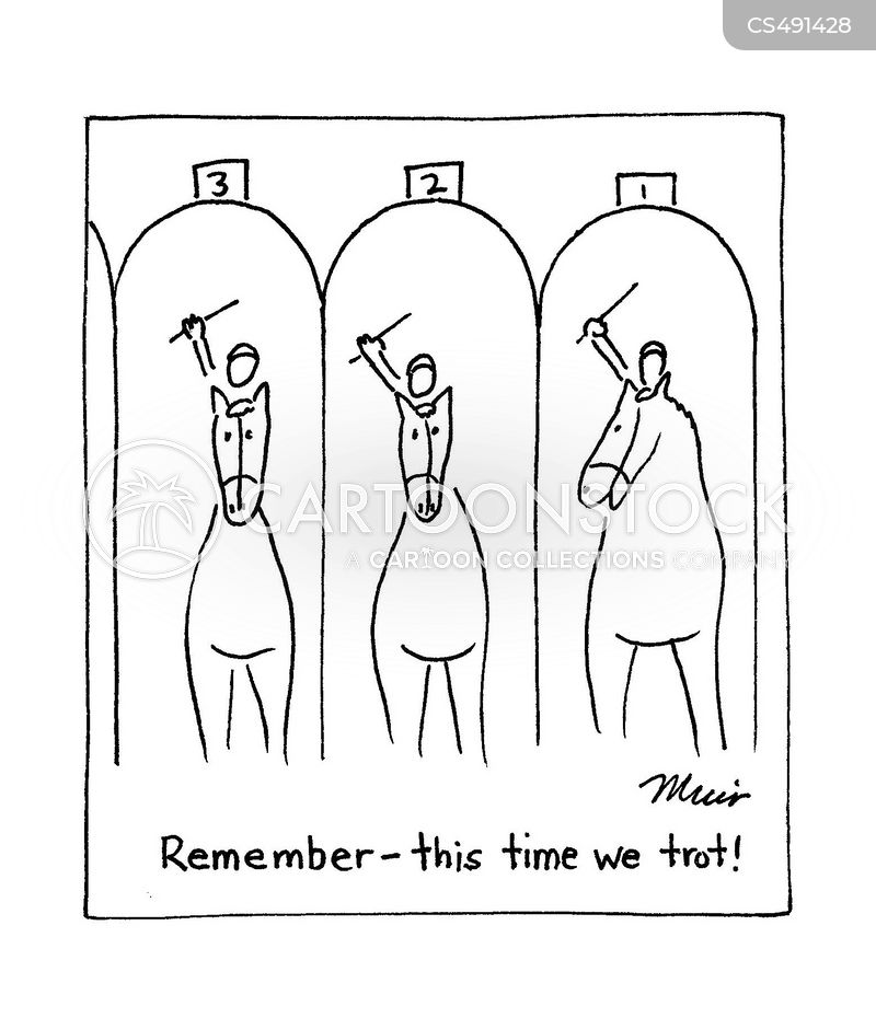 ascot cartoon