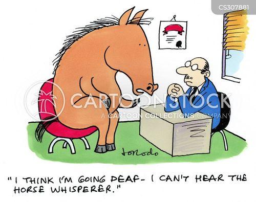 horse whisperer cartoon