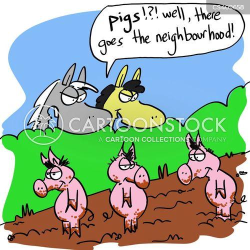 property value cartoon