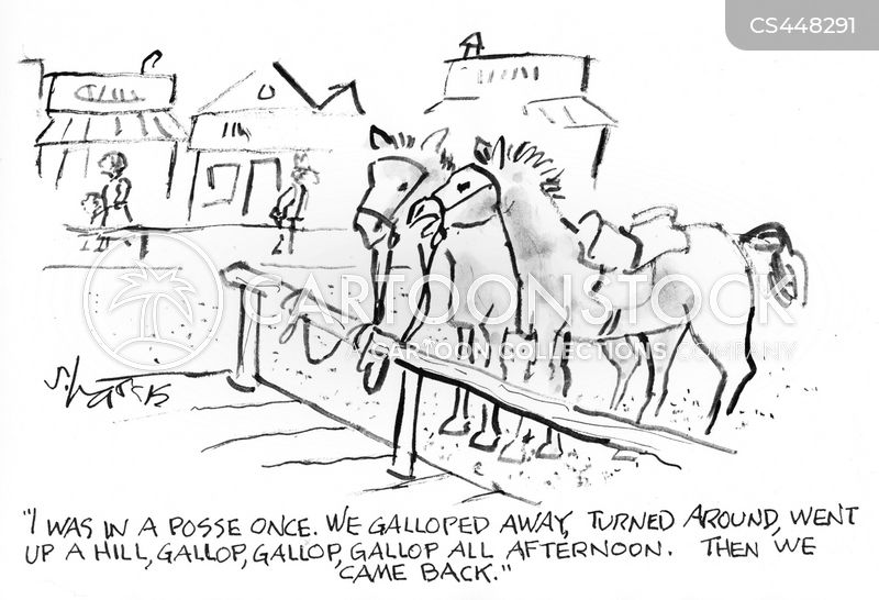 gallops cartoon