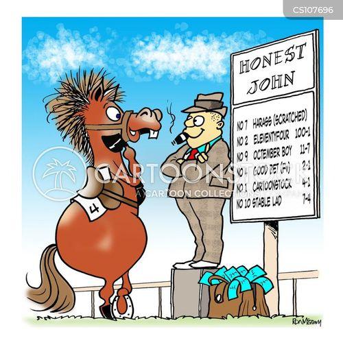Gambling cartoon images