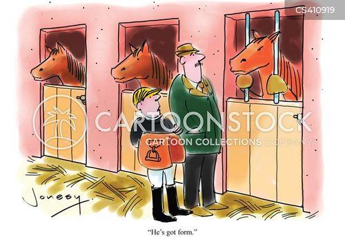 stable hands cartoon