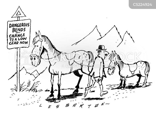 bends cartoon