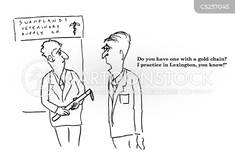 veterinary practice cartoon