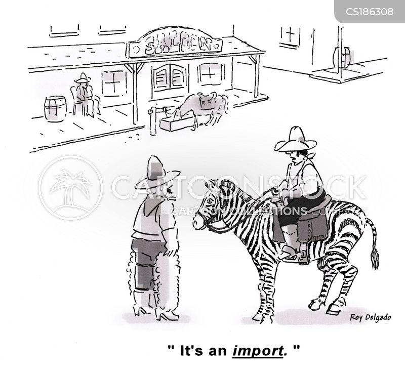 imports cartoon