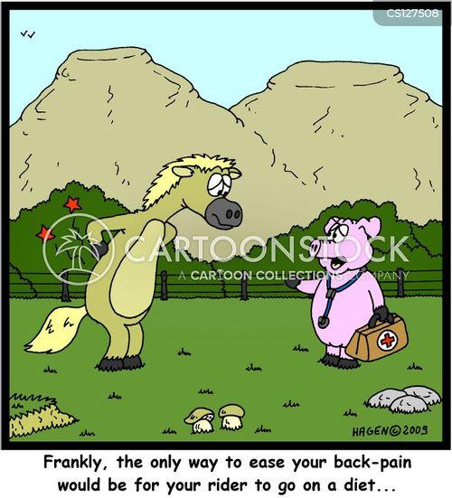 backpain cartoon