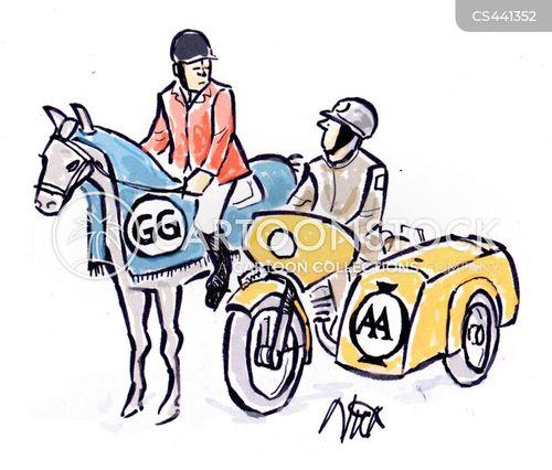 roadside assistance cartoon