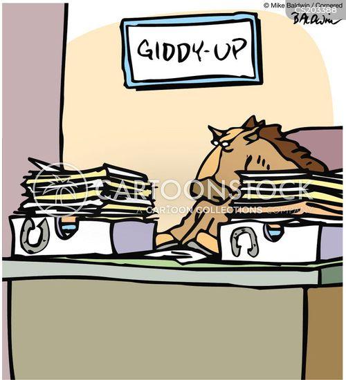 out-tray cartoon
