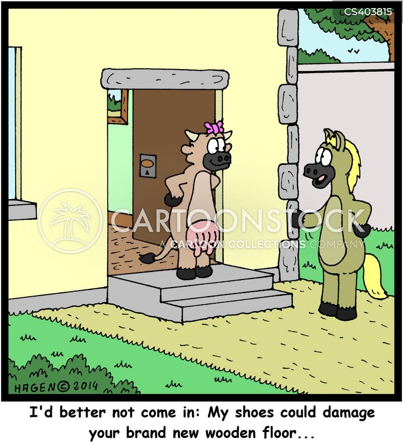 hoof cartoon