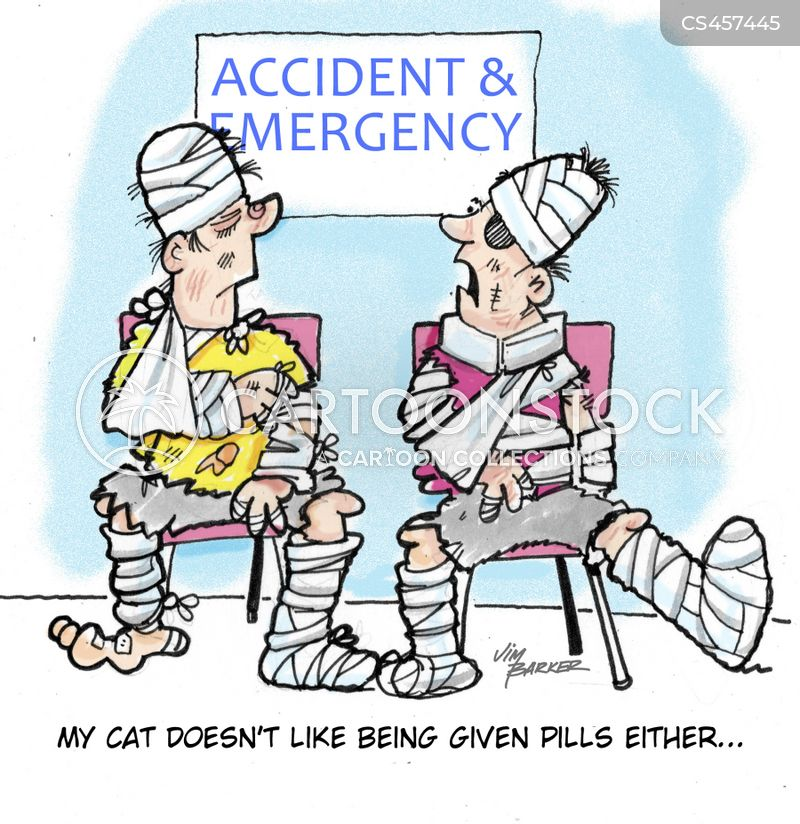bandaged cartoon