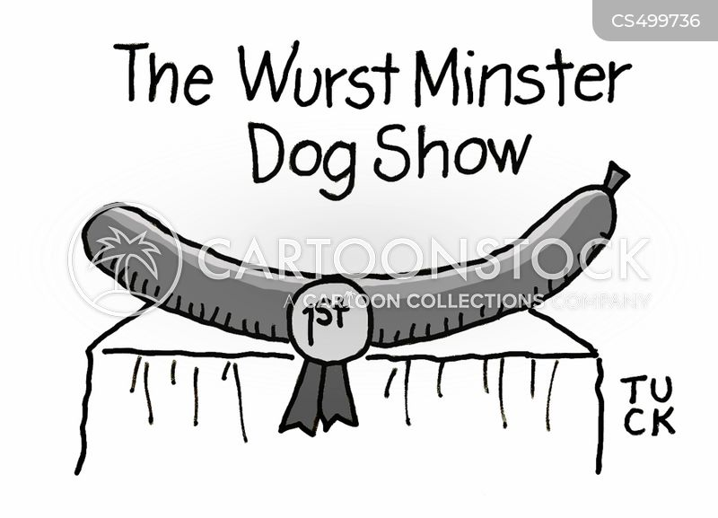 wiener dog cartoon