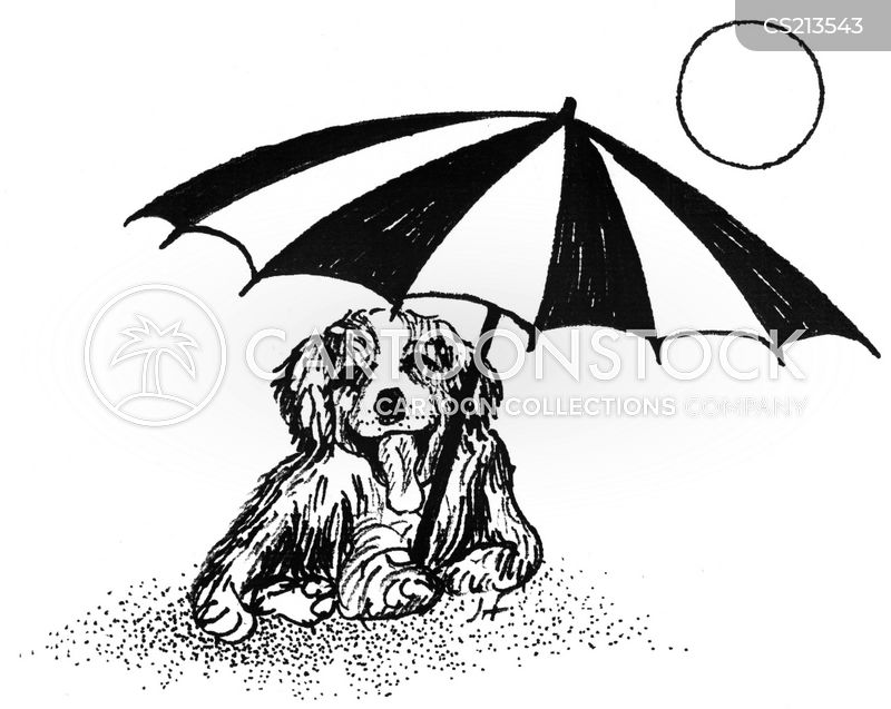 parasol cartoon