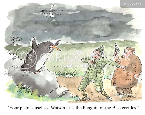 dr watson cartoon