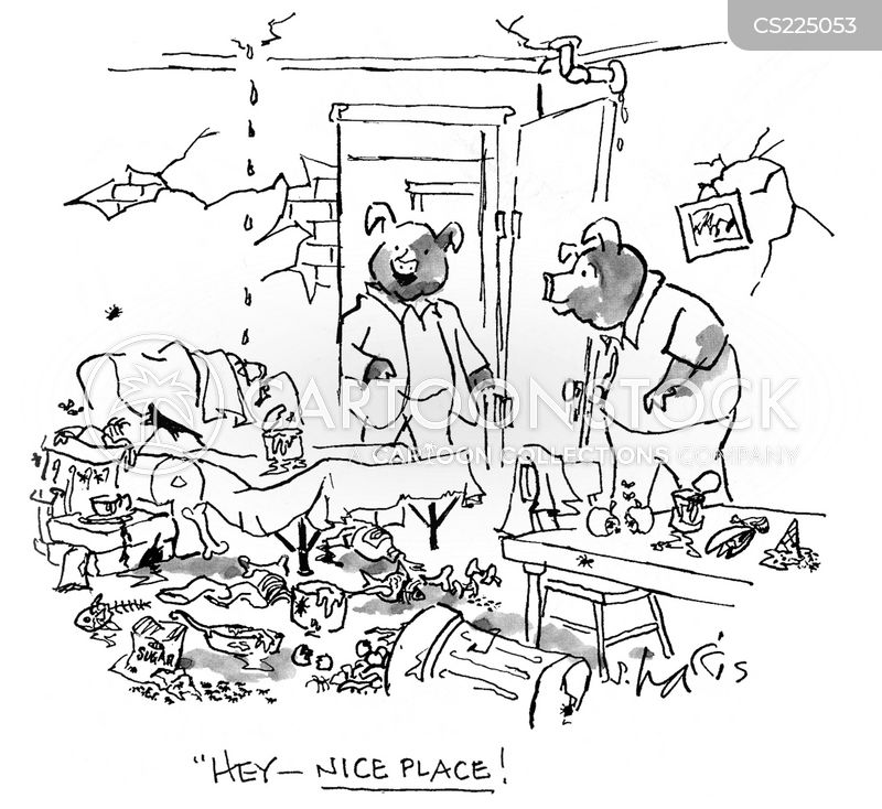 nice place cartoon