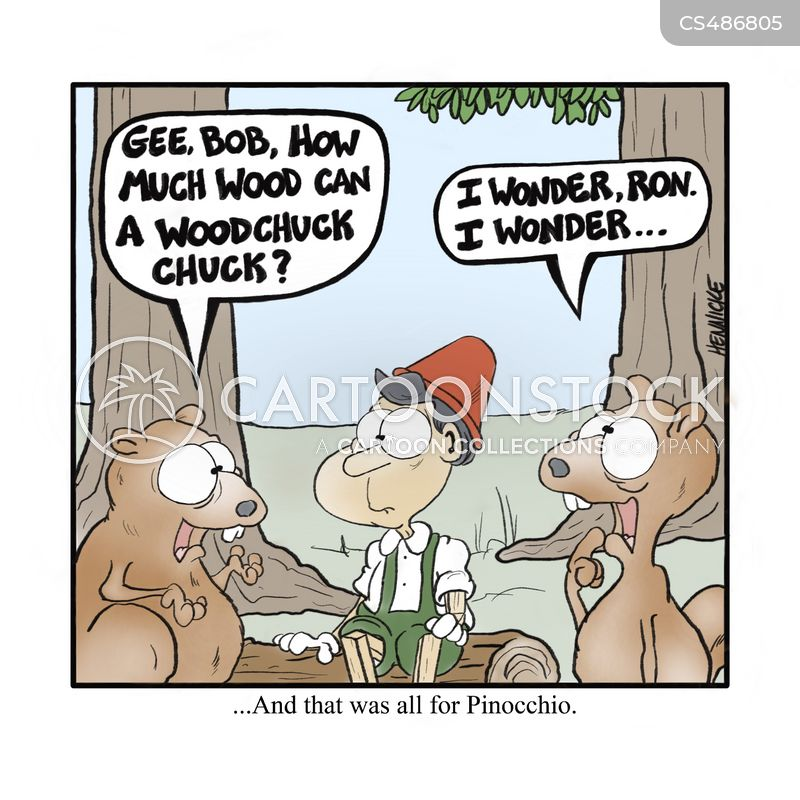 wood-chuck cartoon