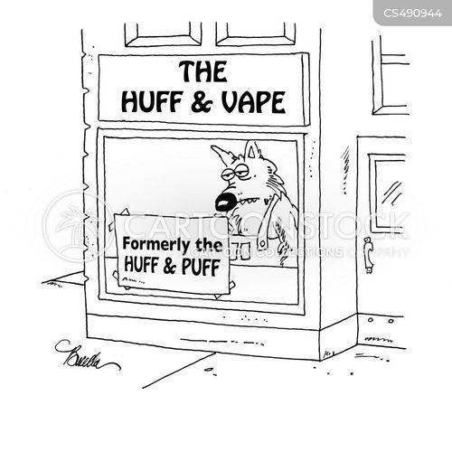 vapes cartoon