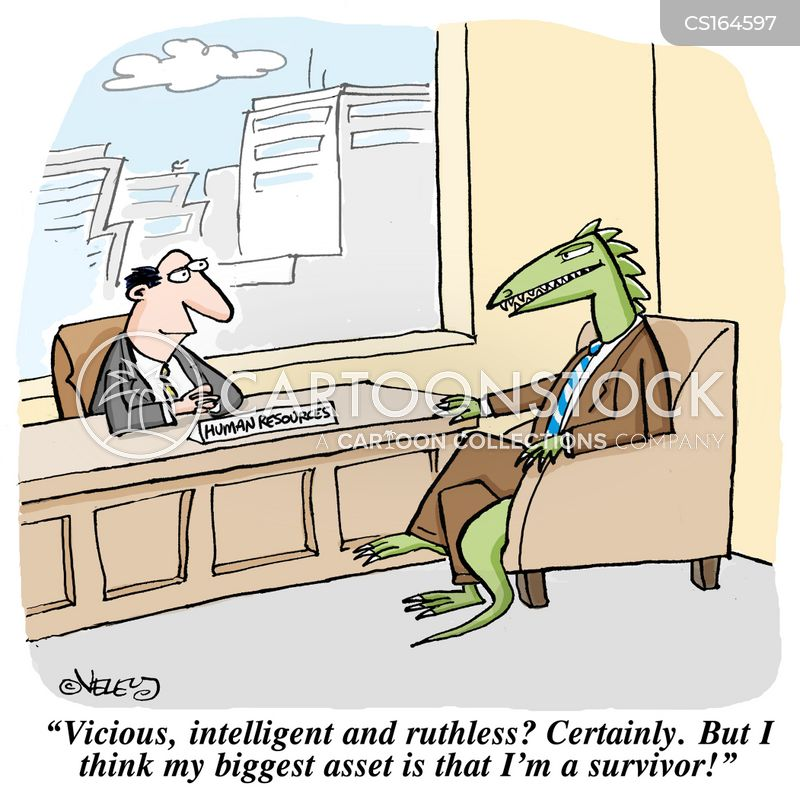 human resource officer cartoon