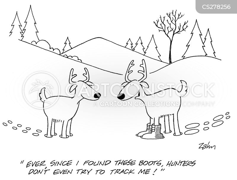 Deer Hunting Cartoons and Comics  funny pictures from CartoonStock