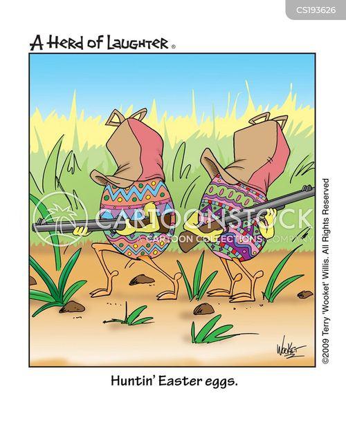 duck hunter cartoon