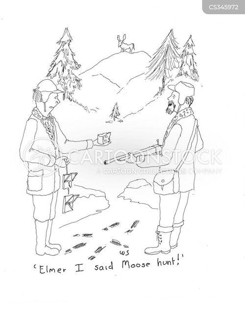 mooses cartoon