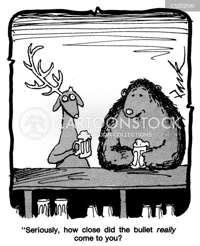 antler cartoon