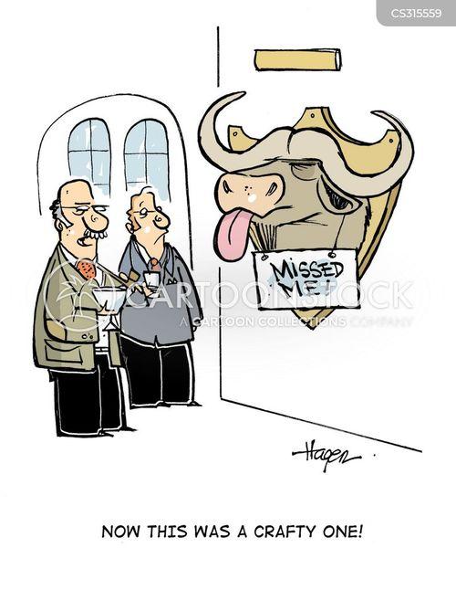 taunted cartoon